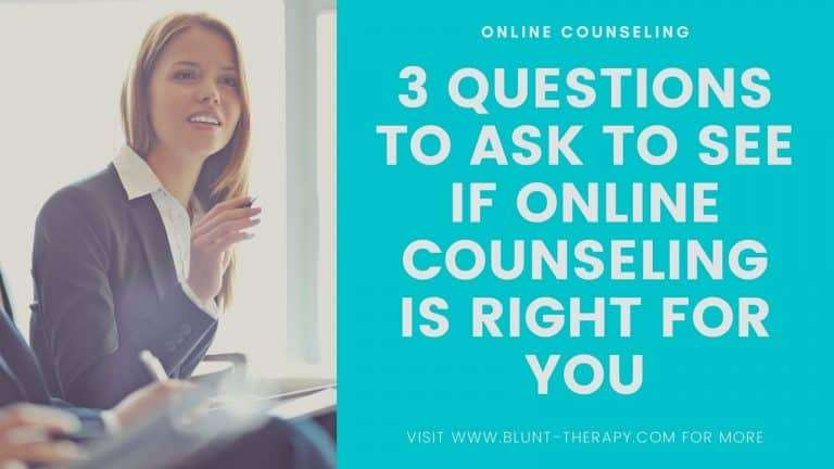 is online therapy right for you