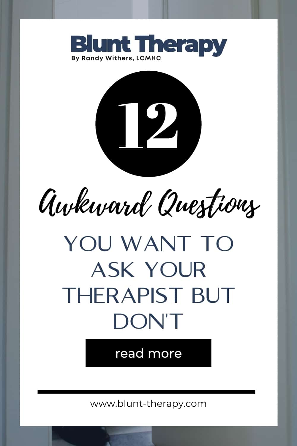 12 Awkward Questions You Want To Ask Your Therapist But Don't (According To Google)