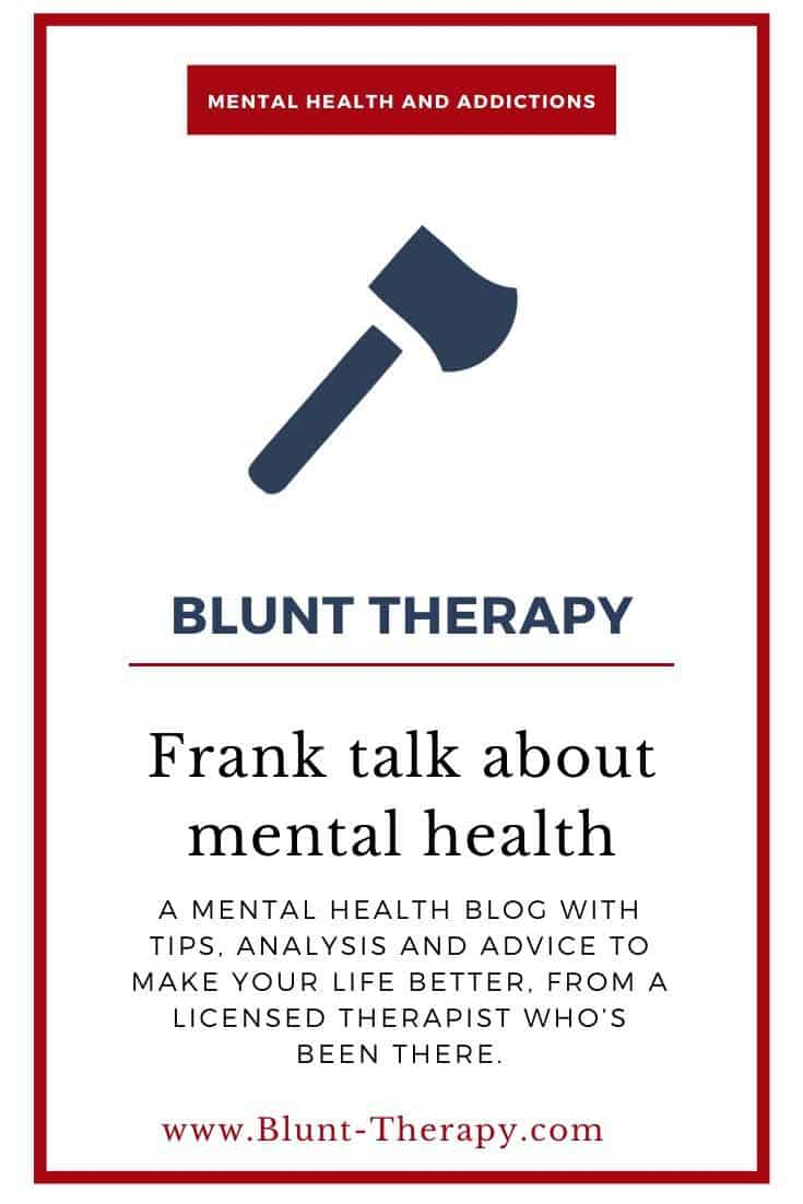 Blunt Therapy: The Best Mental Health Blog on the Internet