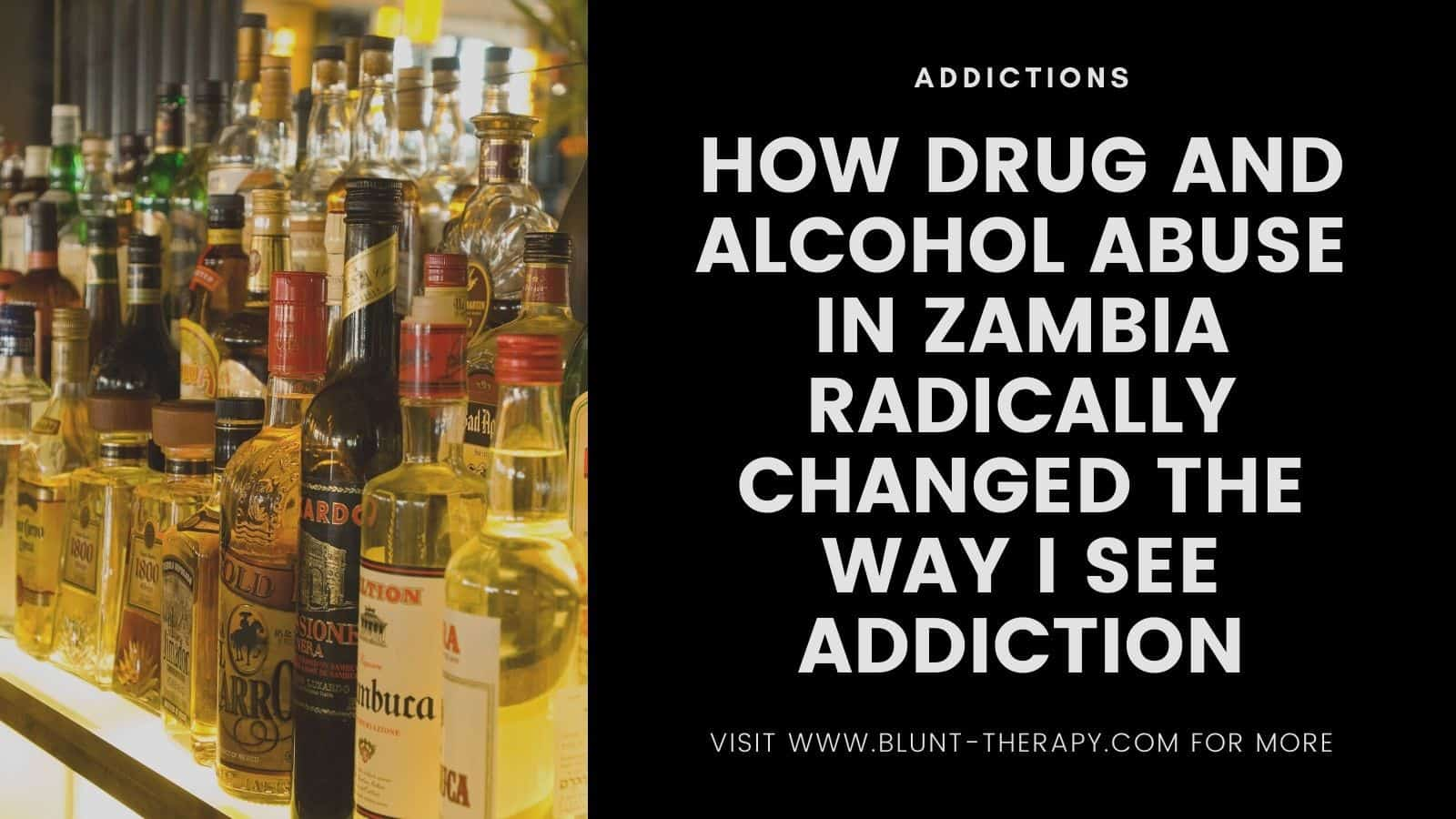 alcohol abuse in Zambia which is in Africa