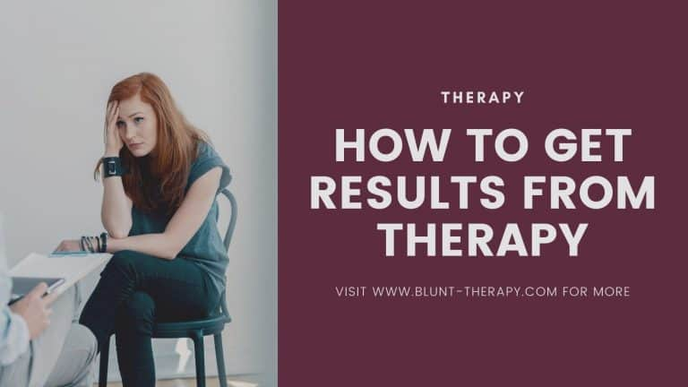 How To Get Results From Therapy