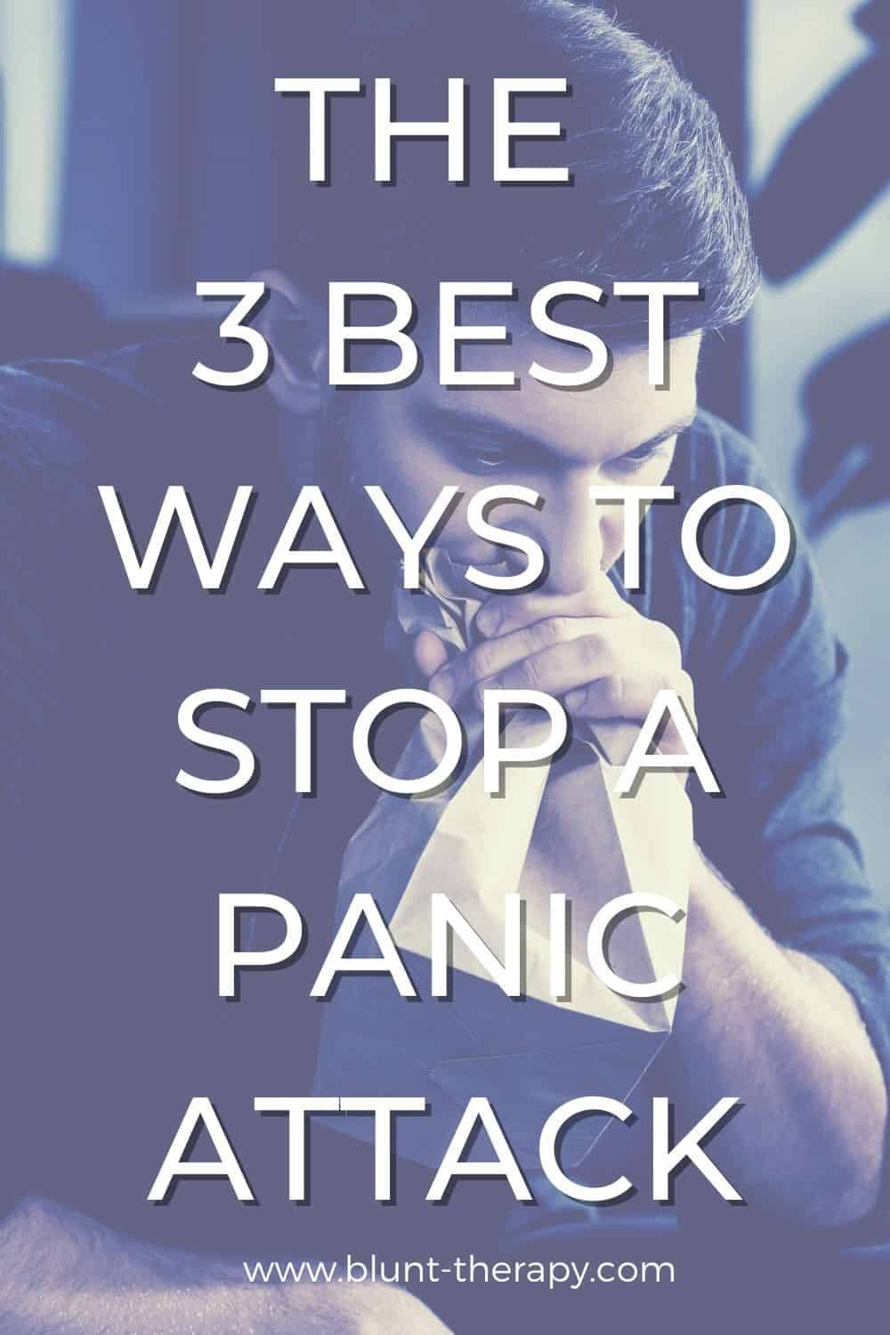 3 Simple Ways To Stop A Panic Attack (Without Medication)