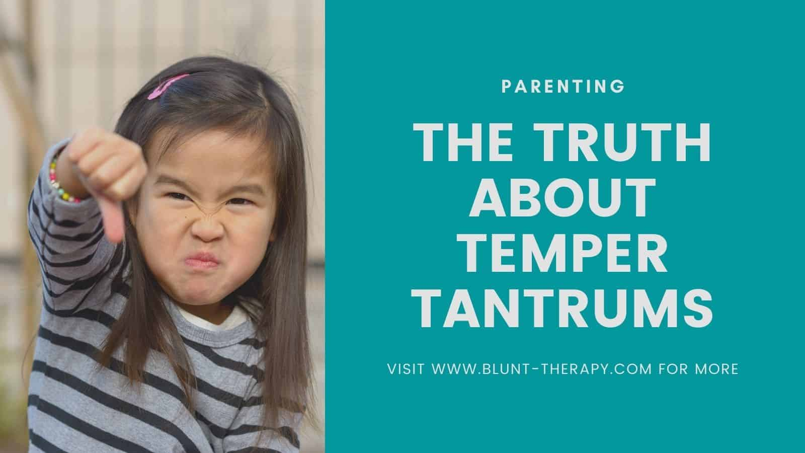 real reason why children throw tantrums