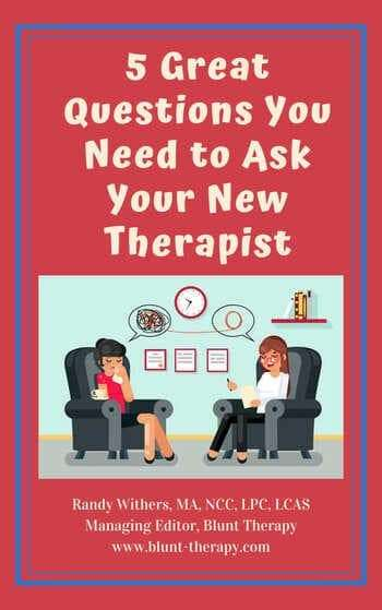5 Great Questions You Need to Ask Your New Therapist