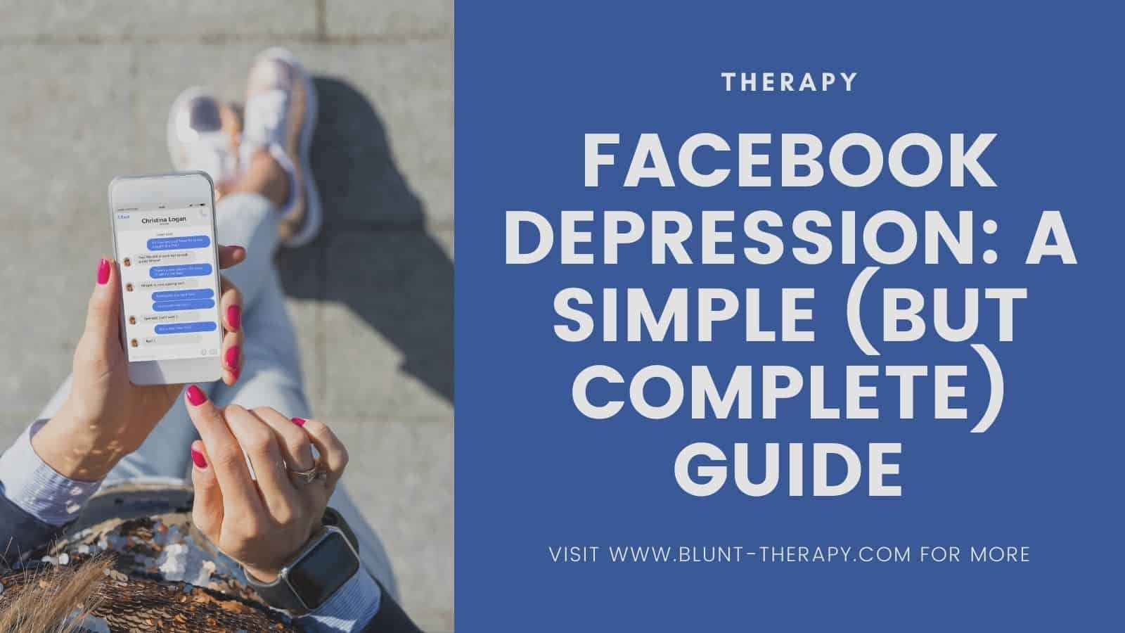 does Facebook cause depression