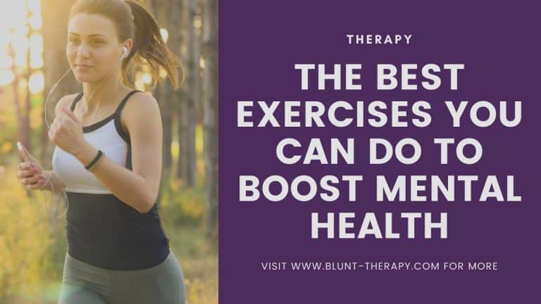 best exercises for mental health and mood