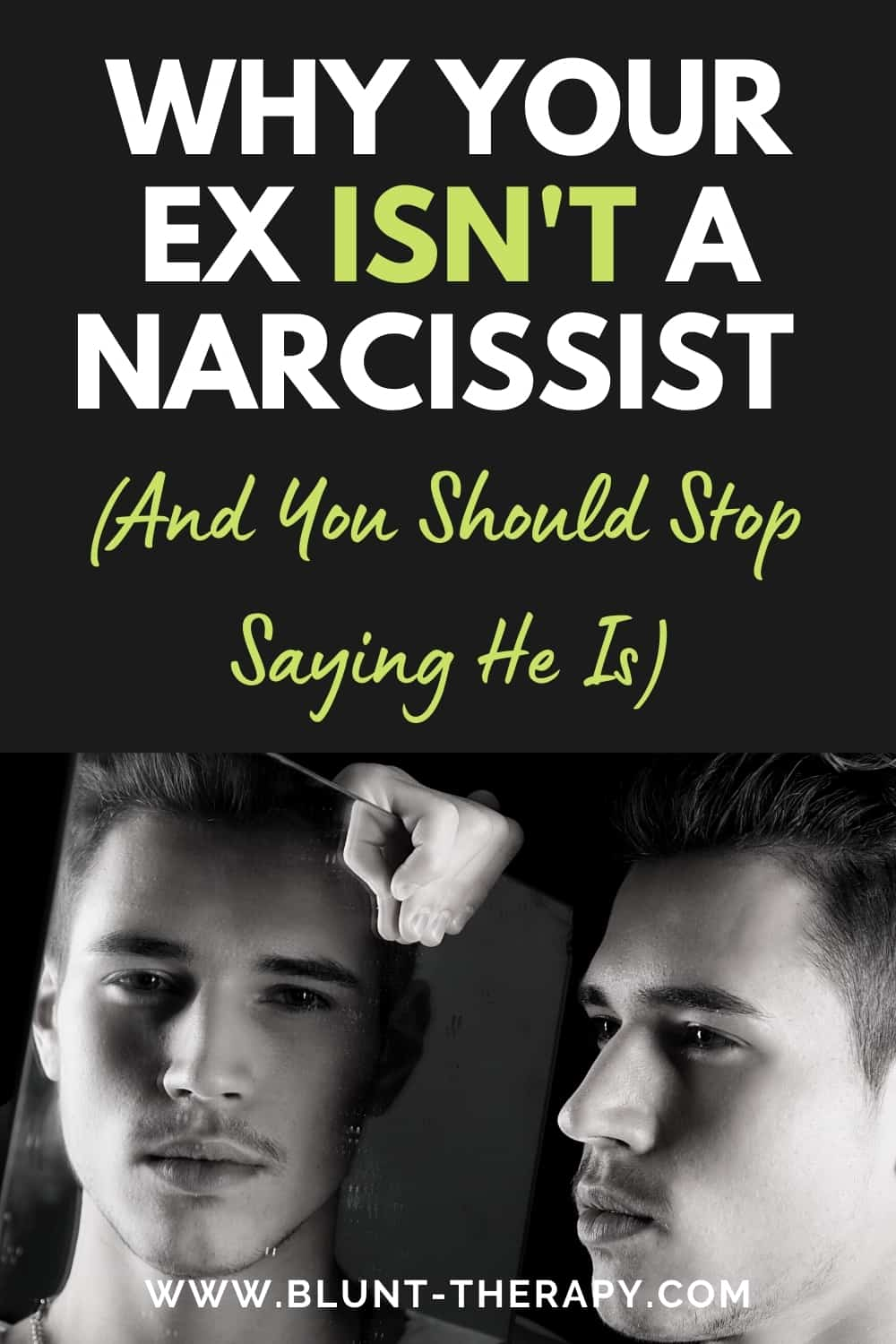 (And You Should Stop Saying He Is) Narcissistic Personality Disorder