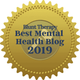 Blunt Therapy 2019 Award for best mental health blogs