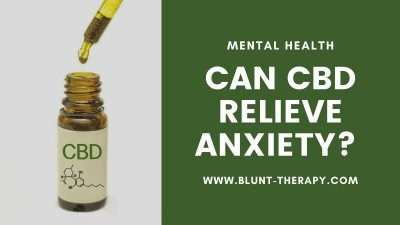 Can CBD Relieve Anxiety