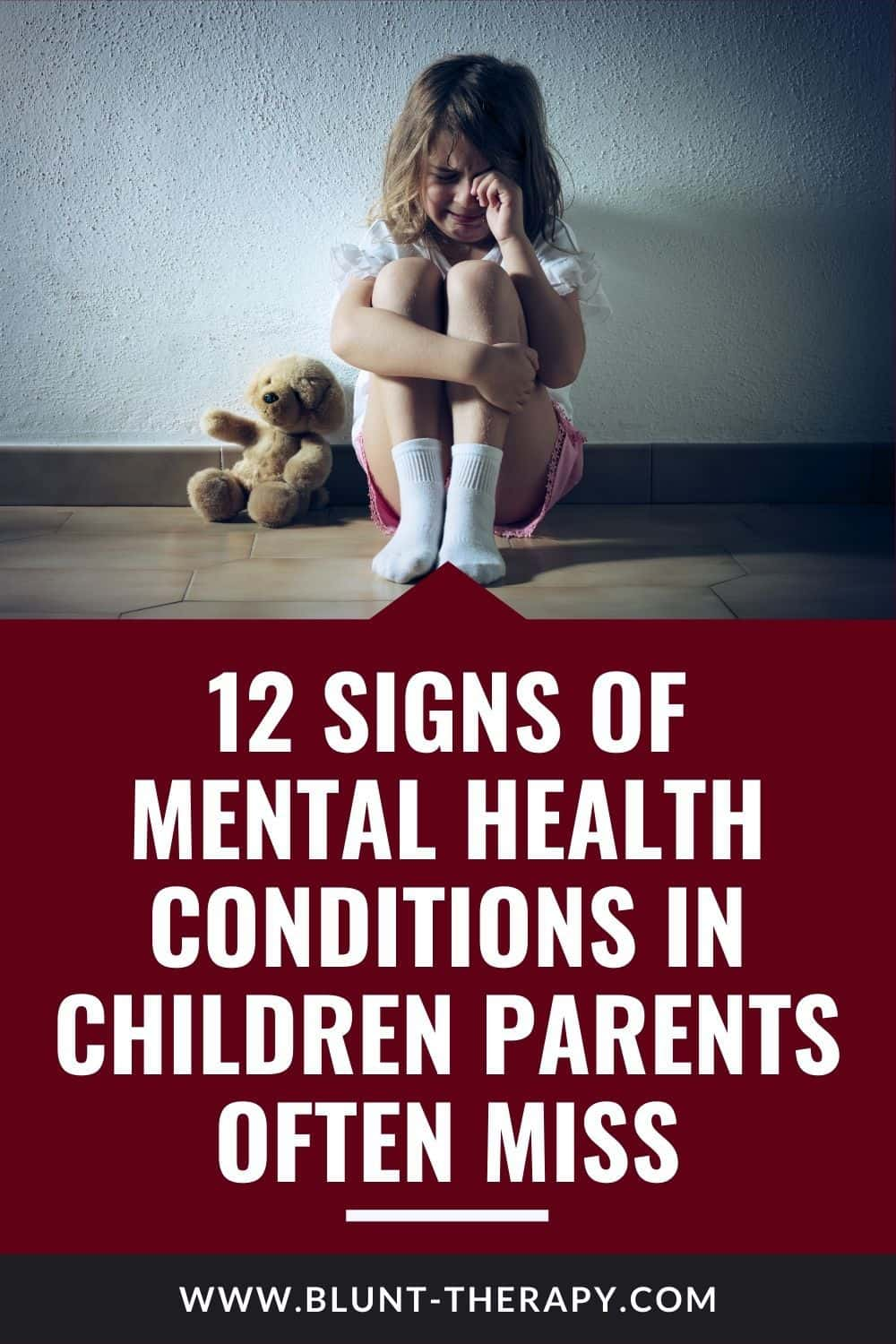 Early Warning signs for children with Mental Illness