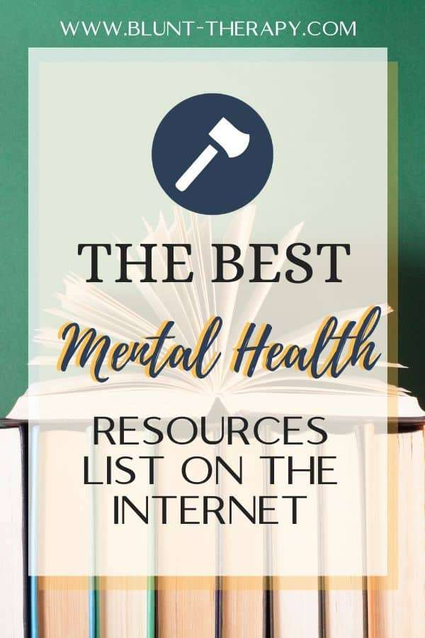 The Best Mental Health Resources on the Internet