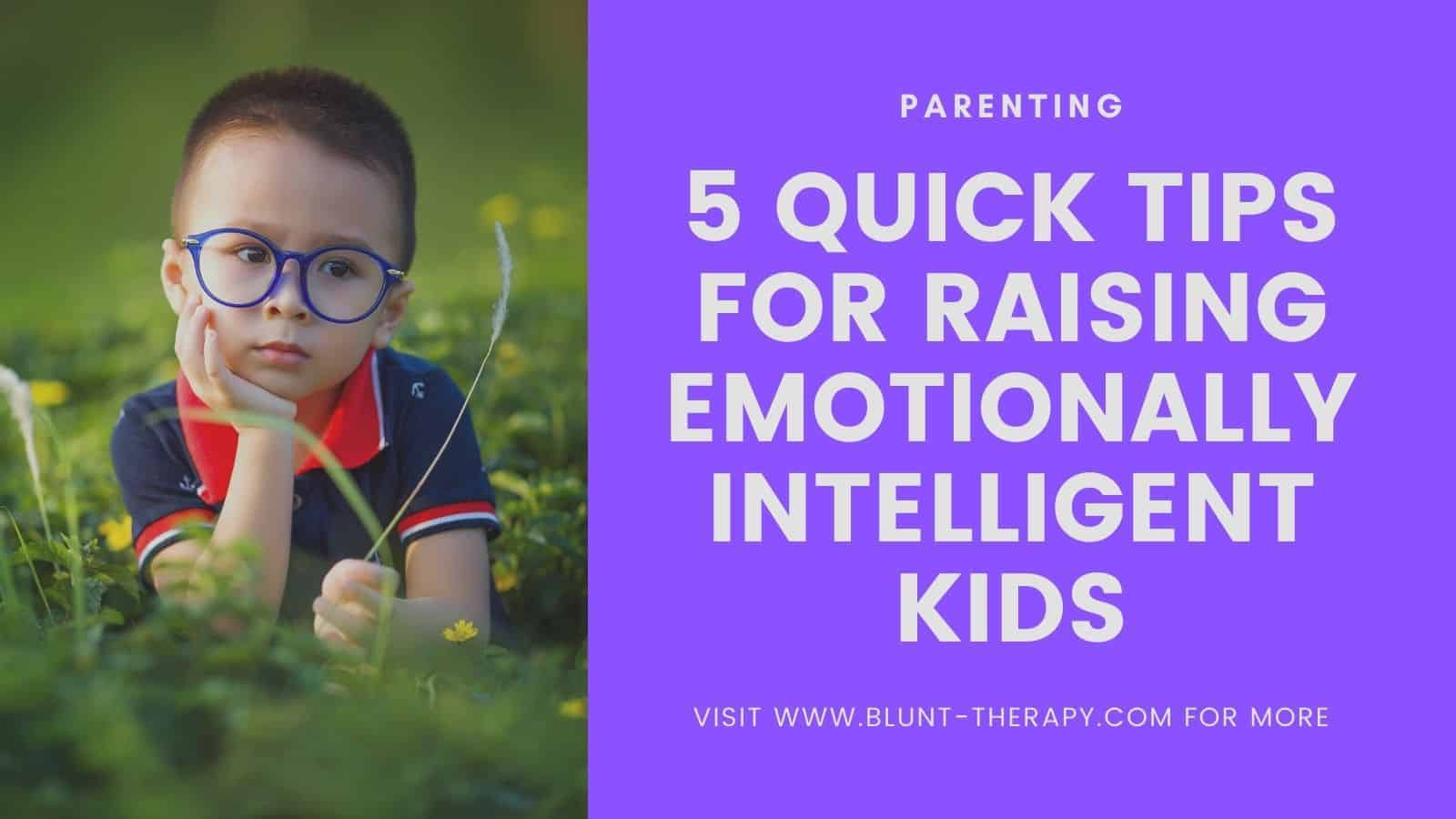 emotionally intelligent kids