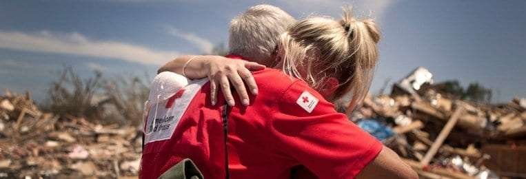 psychological first aid is used by the red cross